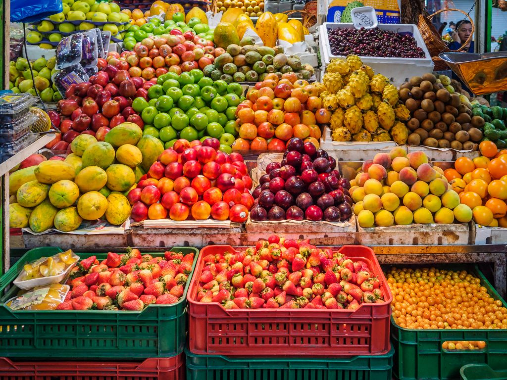 fruit stand choices